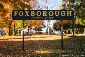 Foxboro - Sign - Autumn 2013