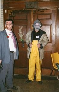 "Jaycees David Brown and Tom Sawran as ""Salty,"" 1992"