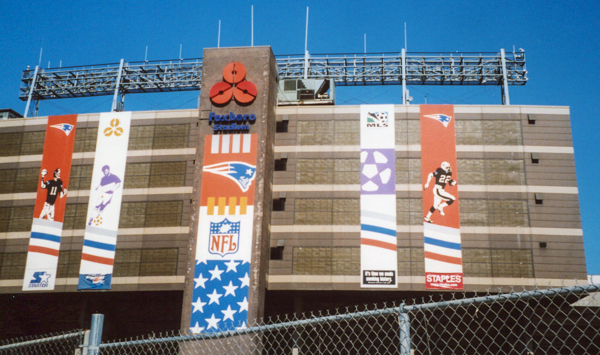 Old Foxboro Stadium Circa 2001