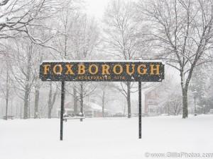 Foxboro Town Sign