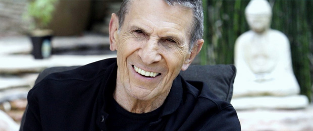 Leonard Nimoy -- image from Star Trek.com