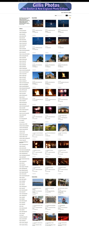 Gillis Photos Web Site
