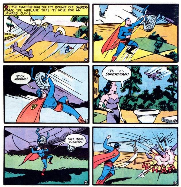 Action Comics Vol 1 #22 March, 1940