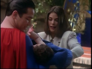 Lois and Clark and Baby Kal-El