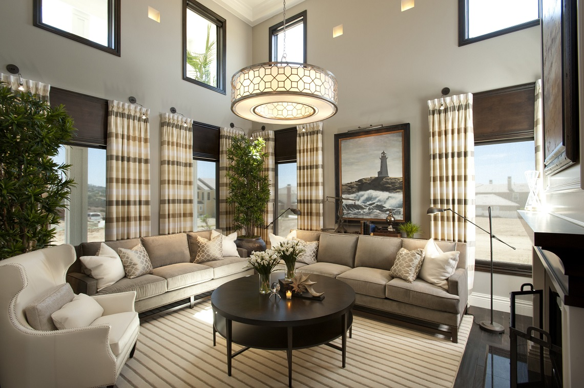 Hamptons Inspired Luxury Home Living Room Robeson Design San Part 74