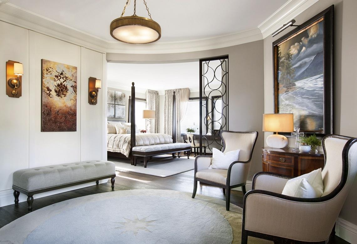Hamptons Inspired Luxury Master Bedroom Before and After ... on Luxury Master Bedroom  id=11213