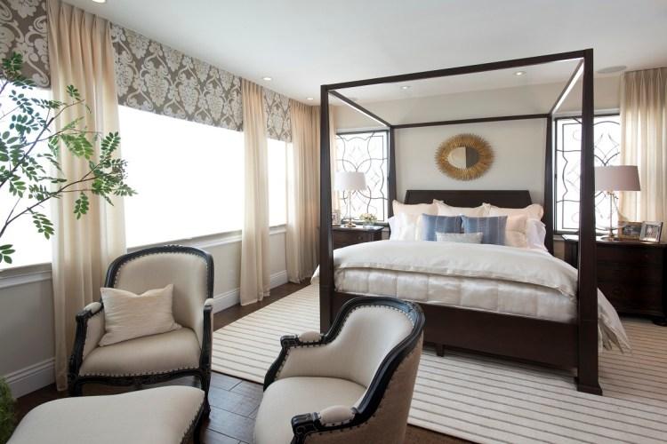 Vibrant Transitional Master Bedroom Robeson Design San Diego Interior Designers