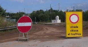 Chiusura temporanea al traffico della Strada Provinciale 3 Tirrena con percorsi alternativi da Lauria