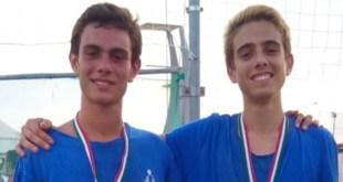 Manuel Riso e Giovanni Bove, dalla Val d'Agri i campioni regionali di Beach Volley