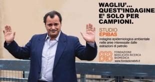 L'attore lucano Antonio Gerardi testimonial in Basilicata a sostegno dello STUDIO EPIBAS