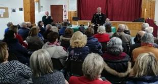 Potenza, il Magg. Gennaro Cascone, Comandante della Compagnia Carabinieri, ritorna in cattedra – Video