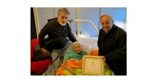 Matera, Luisa Cenatiempo festeggiata per i suoi 100 anni