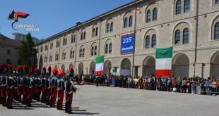 """Potenza, celebrato il """"205° Annuale della Fondazione dell'Arma dei Carabinieri"""""""