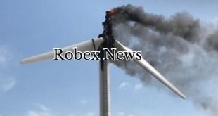Tolve, in fiamme una pala eolica, sul posto i Vigili del Fuoco