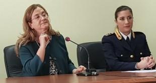 Potenza, il saluto del Questore Isabella Fusiello a nuova destinazione – Video