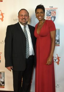 Dr. Rob & DariethChisolm at the Hustle and Heart Book Release Party