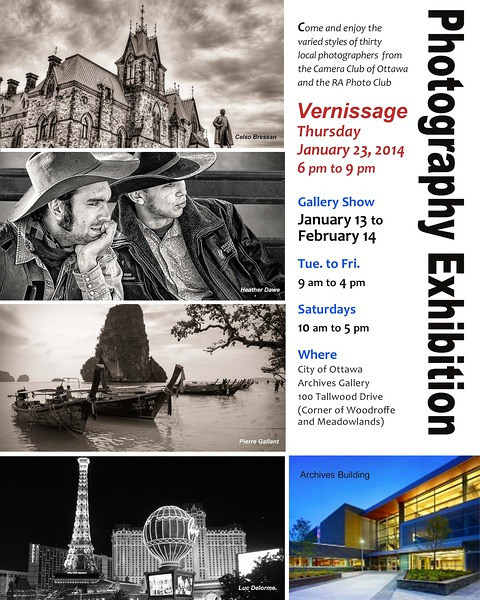 Ottawa Archives Photography Exhibition