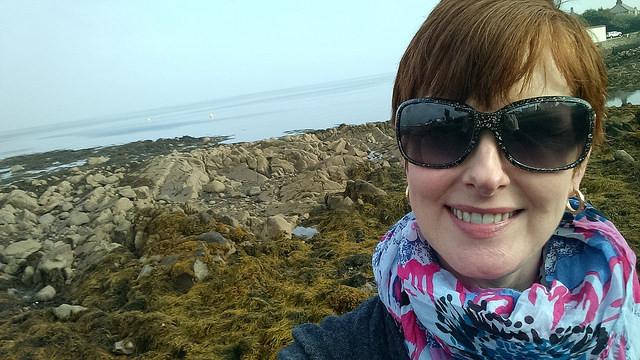 Dublin Bay selfie