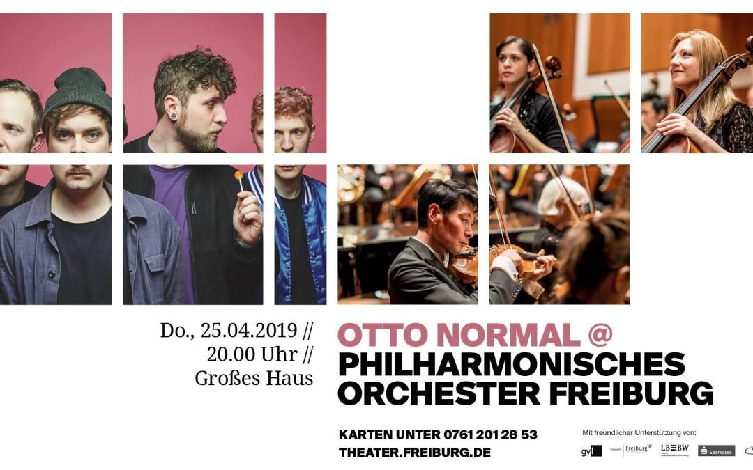 Otto Normal & Philharmonisches Orchester Freiburg – Arranger