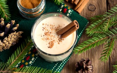 Lower-Calorie Holiday Drink Recipes