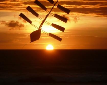 At Ku De Ta for sunset - a safe trip: Robin Bower