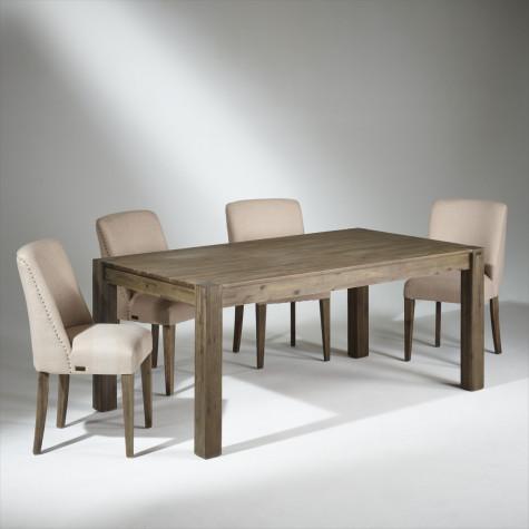 table de salle a manger bois 8 couverts enzo