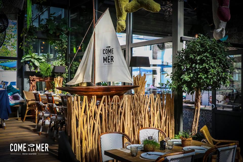 Restaurant Come à la Mer - Robin du Lac Concept Store - Luxembourg (1)