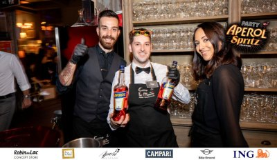 Aperol Spritz Party - 100 Years of Joy - Aperinetwork - Come à la Maison - Robin du Lac Concept Store - Luxembourg (117)