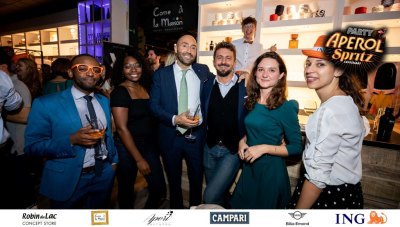 Aperol Spritz Party - 100 Years of Joy - Aperinetwork - Come à la Maison - Robin du Lac Concept Store - Luxembourg (153)