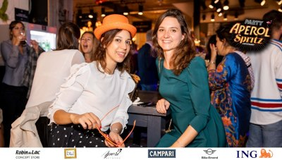 Aperol Spritz Party - 100 Years of Joy - Aperinetwork - Come à la Maison - Robin du Lac Concept Store - Luxembourg (39)
