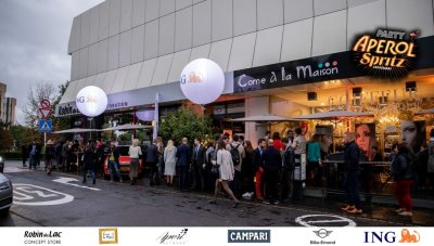 Aperol Spritz Party - 100 Years of Joy - Aperinetwork - Come à la Maison - Robin du Lac Concept Store - Luxembourg (5)