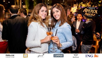 Aperol Spritz Party - 100 Years of Joy - Aperinetwork - Come à la Maison - Robin du Lac Concept Store - Luxembourg (78)