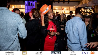 Aperol Spritz Party - 100 Years of Joy - Aperinetwork - Come à la Maison - Robin du Lac Concept Store - Luxembourg (90)