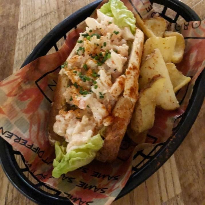 Lobster hotdog