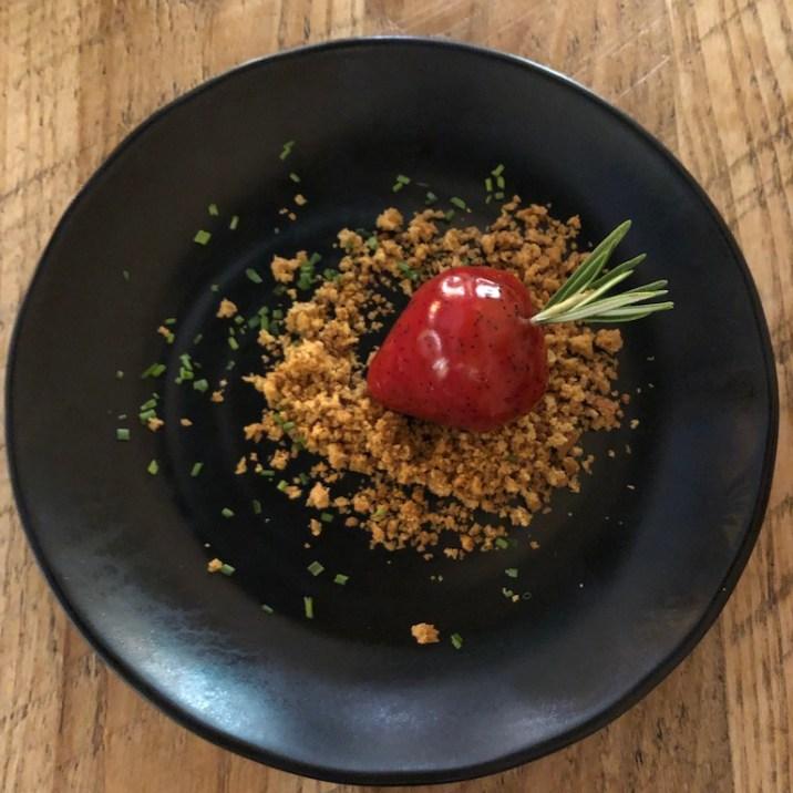 Foie gras 'Strawberry'