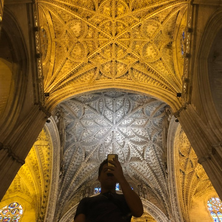 Roof of Seville cathedral