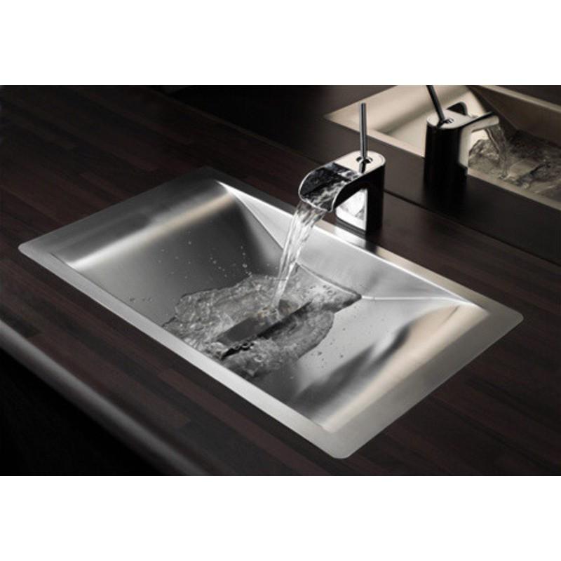 Lavabo Design Inox Encastrer Wave Reginox Robinet And