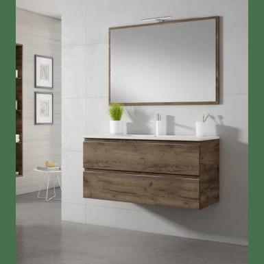 meuble sous vasque jaipur a suspendre 2 tiroirs jaipur
