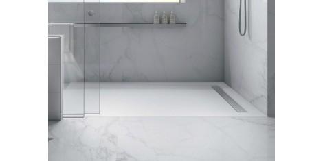 receveur de douche sur mesure extra