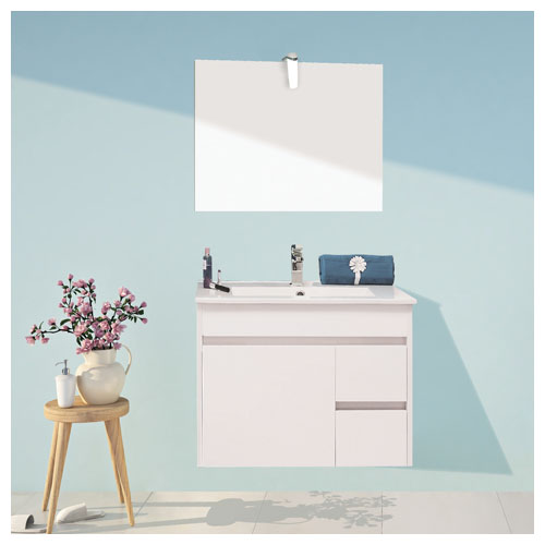 meuble a suspendre 60cm lumpur miroir suspendu bathroom therapy 96860