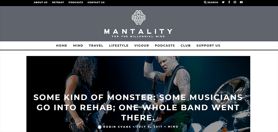 Mantality Magazine Rock Article
