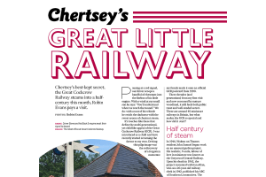 Chertsey's Great Little Railway