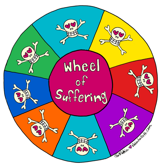 When You're Spinning on The Wheel of Suffering