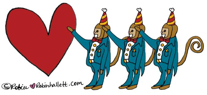 Not my circus, not my monkeys by robin hallett