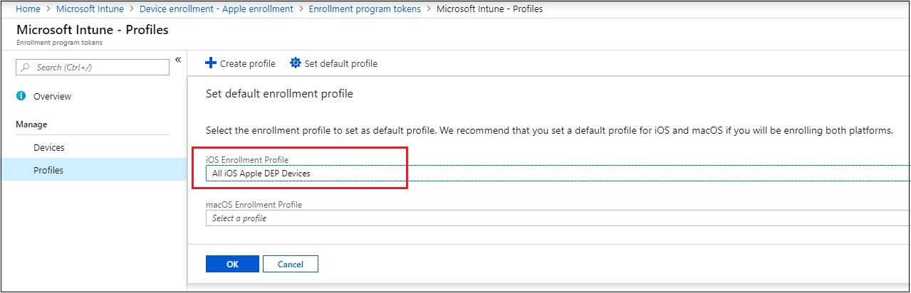 Microsoft endpoint manager (mem/intune) tenant with mdm authority set to intune. How To Configure Apple Dep Within Microsoft Intune And Migrate Existing Dep Devices From Another Mdm Solution To Microsoft Intune