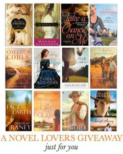A Novel Lovers Giveaway