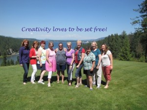 Creativity Loves To Be Set Free!