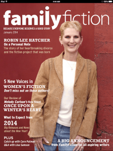 Family Fiction Cover
