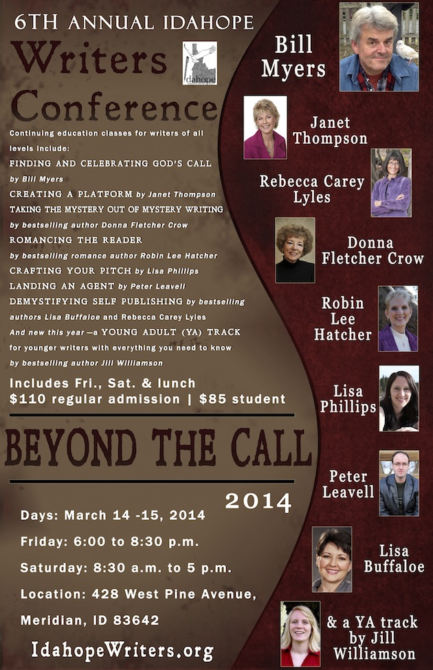 Idahope Writers Conference 2014
