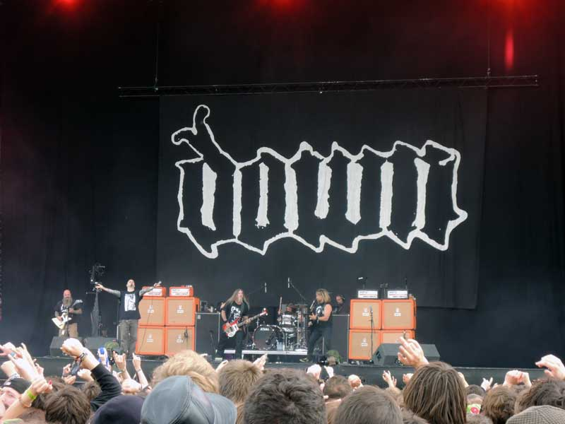 Down di Download Festival 2013. Foto: Gogeng.
